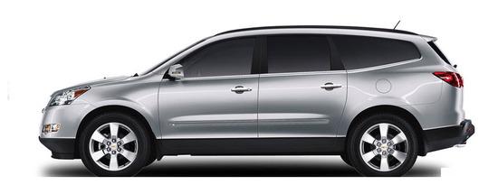 Chevrolet Traverse ,vista lateral