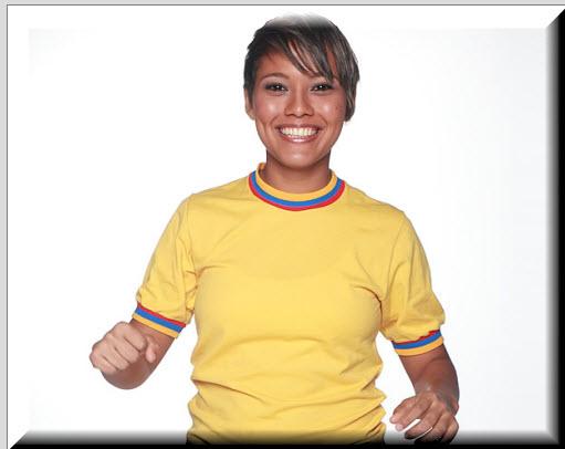 Julieth Pinto Cuello Participante Aventurera, Mundos Opuestos 2012
