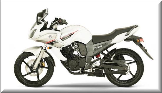 Yamaha Fazer 16 2013, color blanco