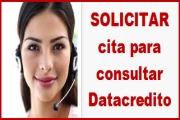 Solicitar Cita para consultar datacredito gratis