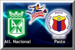 Atlético Nacional vs Deportivo Pasto, Final Copa Postobón 2012