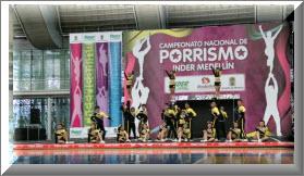 Campeonato Nacional de Porrismo en Cali 2012