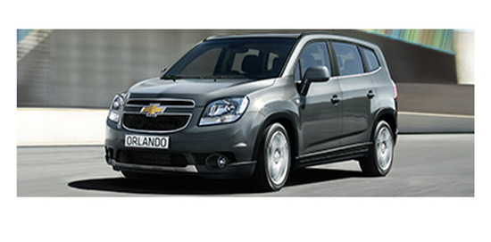 Chevrolet orlando 2013, diseno