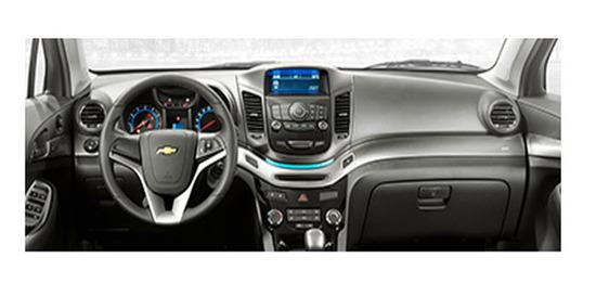 Chevrolet orlando 2013, diseno interior