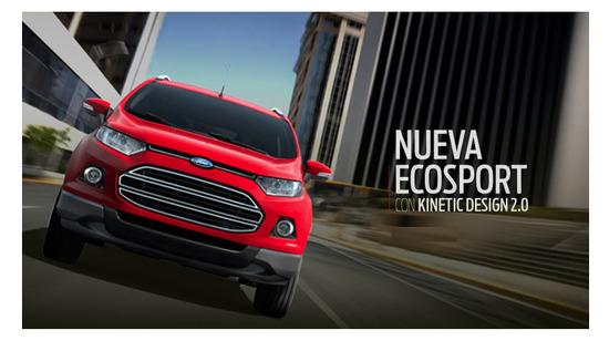 Ford Ecosport con Kinetic Design 2.0
