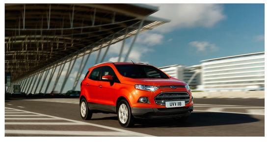 Ford Ecosport con Kinetic Design 2.0 ,desempeño