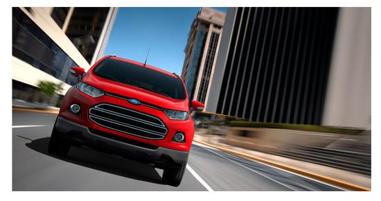 Ford Ecosport con Kinetic Design 2.0, diseno exterior