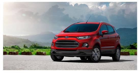 Ford Ecosport con Kinetic Design 2.0, vista lado izquierdo