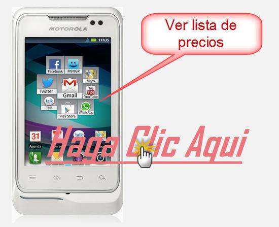 Listado de Ofertas Motorola MotoSmart Me