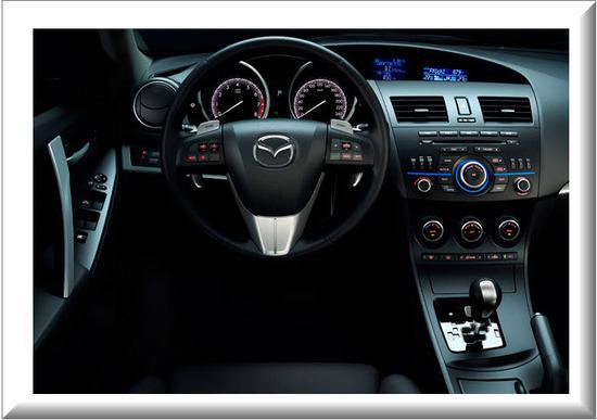 Mazda 3 All New Face Lift, diseno interior