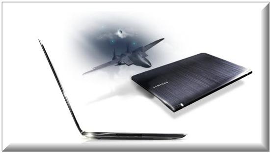 Samsung Serie 9, diseno delgado
