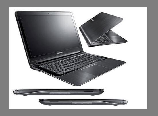 Samsung Serie 9, vista parte exterior