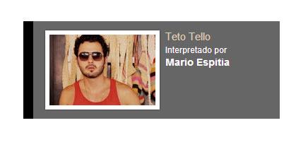 Teto Tello Interpretado por Espitia personaje Rafael Orozco El idolo