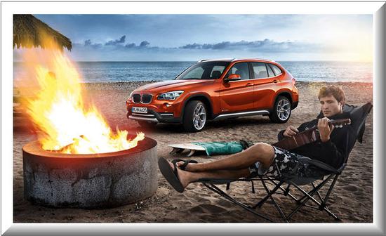 BMW X1, aventurero