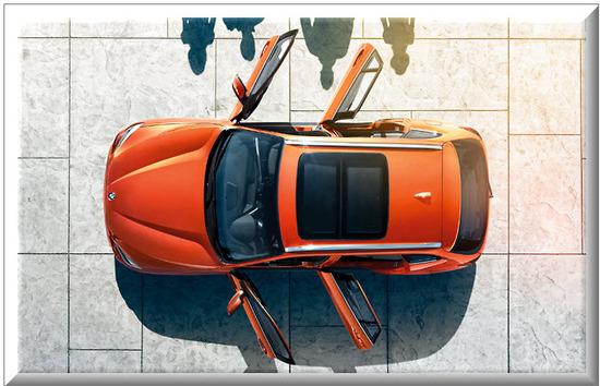 BMW X1, cuatro puertas