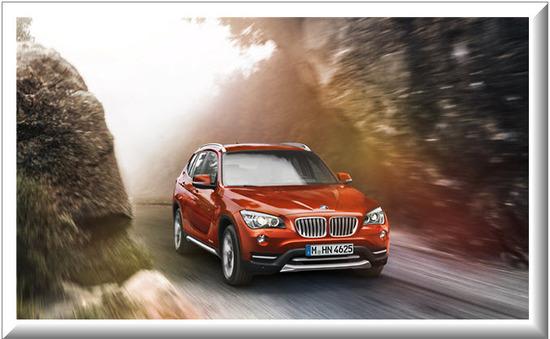 BMW X1, potencia