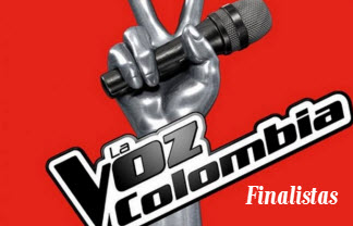 Finalistas de La Voz Colombia 2012