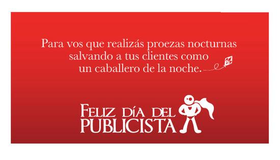 Imagen del Día del Publicista