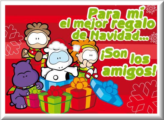 Postales de Navidad con mensajes