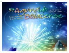 Programación oficial Aguinaldo Boyacense 2012