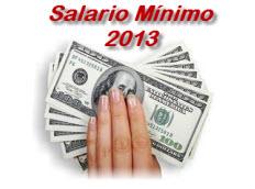 Salario Mínimo 2013 Colombia