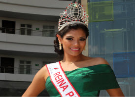 Yohana Paola Vaca, Reina Panamericana 2012