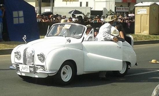 Feria de Cali 2012: Desfile carros antiguos