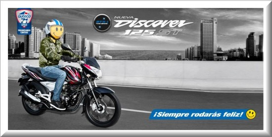 Auteco Bajaj Discover 125 ST 2013