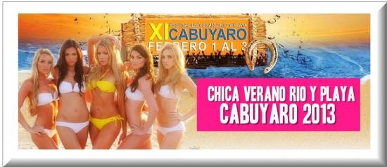 Chica Festival Verano Rio y Playa Cabuyaro 2013