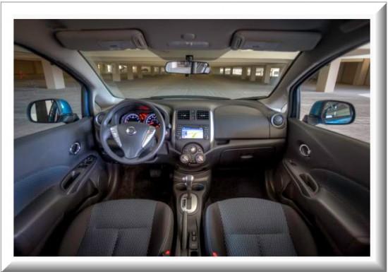 Nissan Versa Note, diseno interior