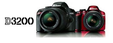 Nueva Cámara Nikon D3200