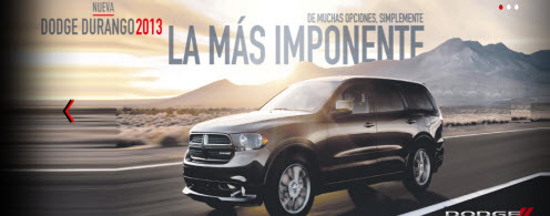 Nuevo Dodge Durango 2013