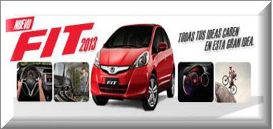 Nuevo Honda Fit 2013