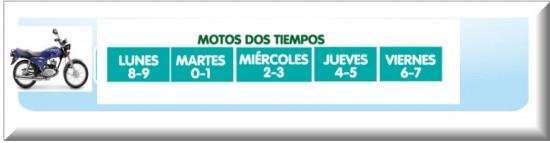 Pico y Placa Medellin 2013 motos dos tiempos