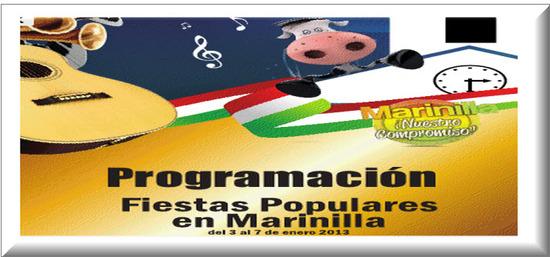 Programación Fiestas Populares en Marinilla 2013