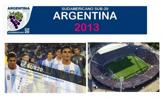 Sudamericano Sub 20: Logo Sudamericano Sub 20 2013
