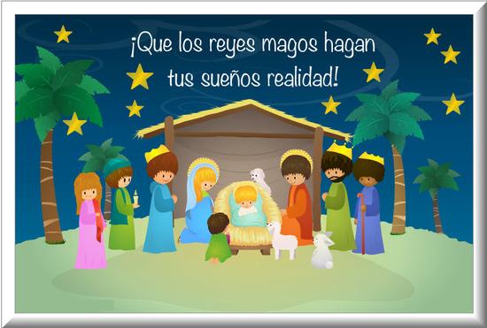 Dia de reyes magos  Feliz dia de reyes  Tarjetas y Postales