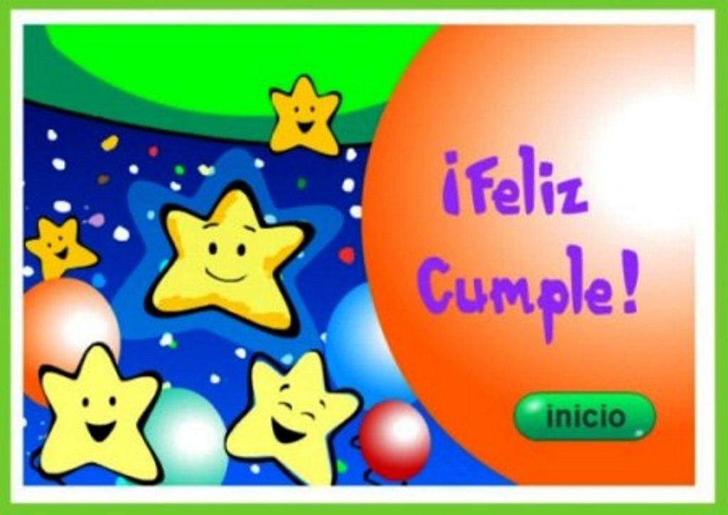 Tarjetas de cumpleaños para niños