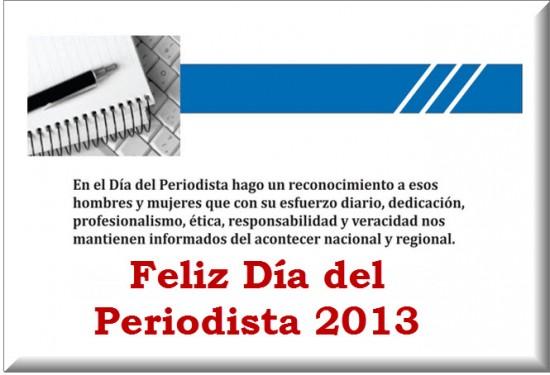 Día del Periodista 2013