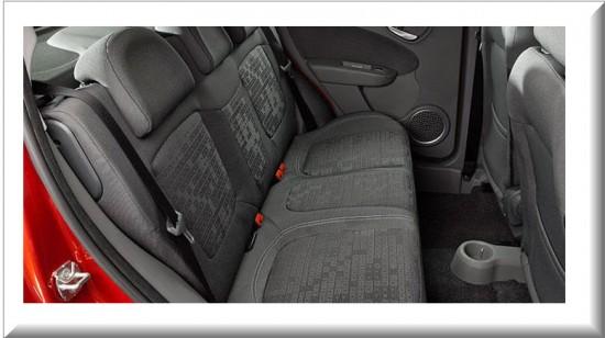 Fiat Palio Attractive 2013, asientos