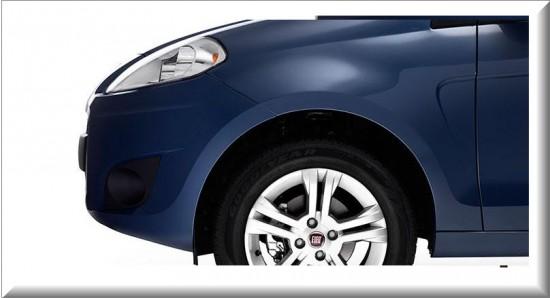 Fiat Palio Attractive 2013 vista parte delantera
