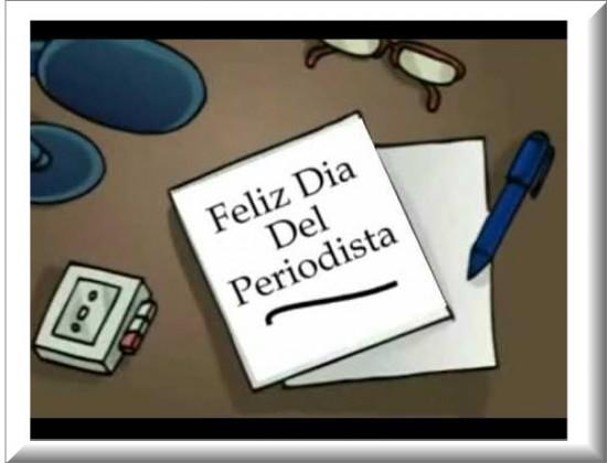 Imagen Dia del Periodista Feliz Dia