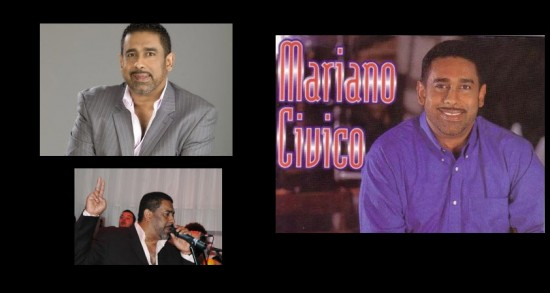 Mariano Civico, cantante de salsa