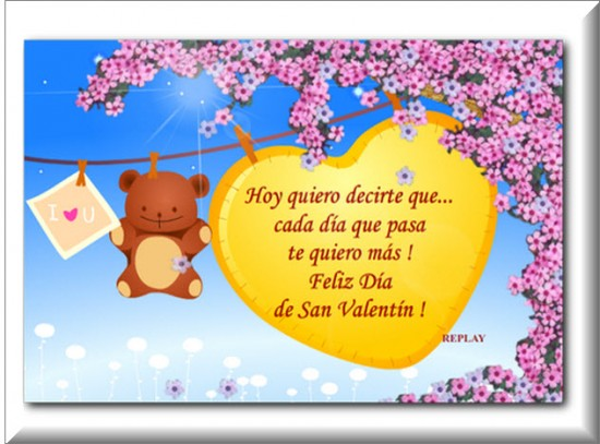 Postales del dia del maestro en ingles postales d a de - Postales dia de san valentin ...