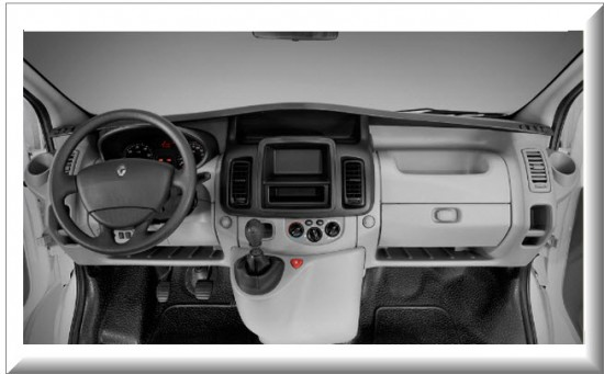 Renault Trafic Interior Renault Trafic 2013 Dise o