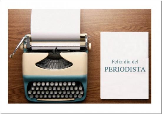 Tarjetas Día del Periodista