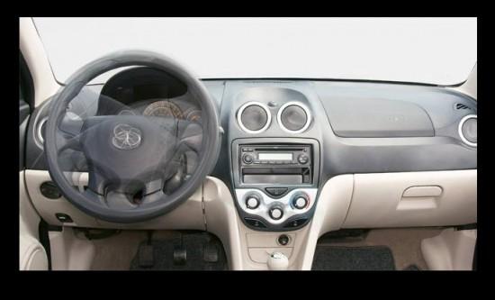 Taxi Star JAC 2013 diseño interior