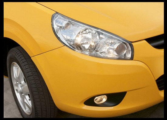 Taxi Star JAC 2013 farolas delanteras