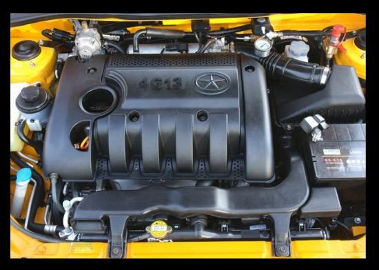 Taxi Star JAC 2013 motor