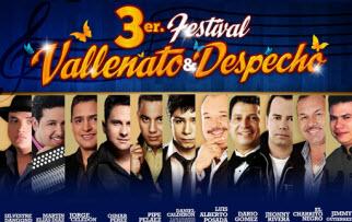 Tercer Festival de Vallenato y Despecho en Cali 2013